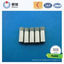 Pernos del resorte de la precisión del CNC del CNC de la fábrica de ISO