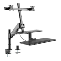 Laptop Monitor Mount Arm Desktop Holder Workstation Stand