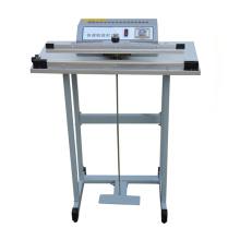 Pedal de pedal sellado por calor sellador sellador de lados individuales fabrica semiautomática máquina de sellado