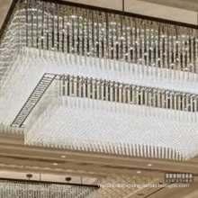 guzhen large Project chandelier imported from china Luxury fancy chandelier for hotel decorate