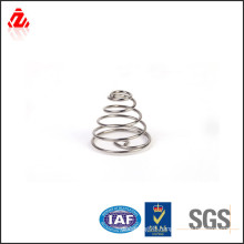 Large tower shaped compression spring