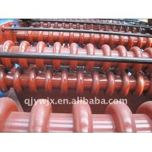 máquina de prensagem de telhado ondulado aço cor