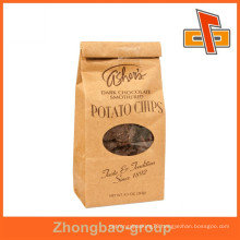 new design kraft paper bag manufacturer in China
