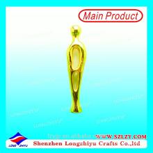 Golden Small Medal Metal Trophy Manufacturer
