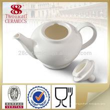 Домашний декоративный белый керамический посуда чайник и чай горшок набор для ежедневного использования