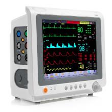 Сенсорный экран животных Ветеринар ЭКГ ЭКГ ветеринарный монитор с FDA (V-C50)