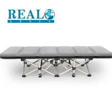 Single Portable Reinforce Steel Frame Folding Furniture Sofa Bed With Pillow Mattress