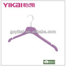 Gummi-Lack-ABS-Kleiderbügel mit Kerben