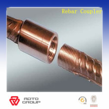 Economical and environmental steel rebar couplers for construction
