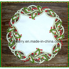 Embroidery Christmas Doily St1765