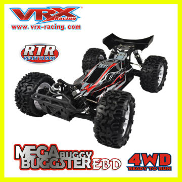 1:10 scale four wheel drive electric Car