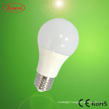 15W LED PC Plastic Aluminium Bulb