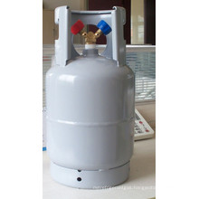 Pure (99.98%) R134a Refrigerant in 12kgs net weight CE refillable cyl for European market