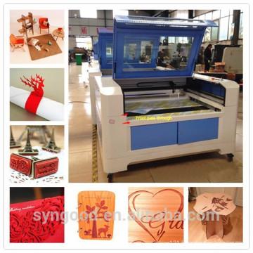 Machines à découper au laser en bois Syngood 600 * 900mm pour une coupe de puits de 8 mm d'épaisseur