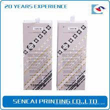 Caja de papel del embalaje de la venda del diseño de encargo de Sencai