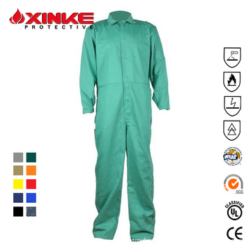 custom safety work overalls work wear 100 % cotton for men