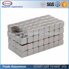 Magnetic cube 10mm x 10mm x 10mm rare earth neodymium magnet made in China