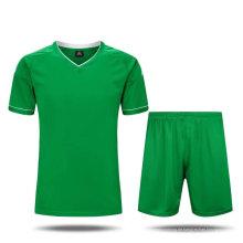 Kundenspezifische Entwürfe 100% Polyester-Fußball Jersey