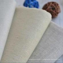 60% Linge de lit 40% Tissu en coton Tissu en lin pour vêtement
