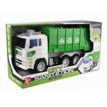 Véhicule à friction Véhicule en plastique Toy City Trucks (H9970001)