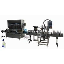 anticorrosive straight line type filling machine
