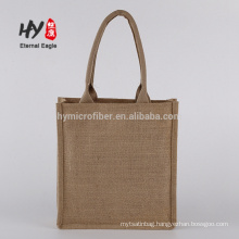 New gift universal blank hemp jute cloth shopping bags