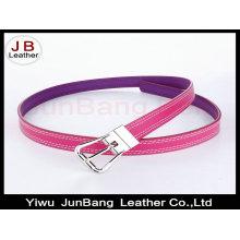 New Design Fashion Haute qualité en cuir coloré femme ceinture