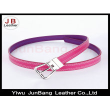 New Design Fashion High Quality Colorful Leather Woman Belt