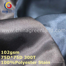100%Polyester Stain Imitated Silk Fabric for Lining Curtain Garment (GLLML266)