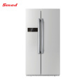 High End Multi Glass Door Finished Side By Side Refrigerator