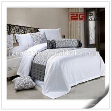 Pure White Linen Star Hotel Used Cotton Luxury Hotel Collection Bedding