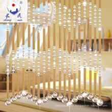 Belles rideaux de perles décoratives pour la porte fenêtre