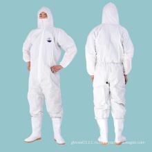 Одноразовая защитная одежда, комбинезон, защитный костюм