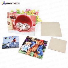 sunmeta factory supply high quality sublimation ceramic tile transfer printing