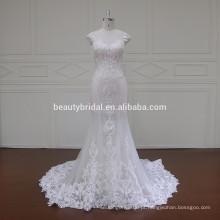 XF16047 musculoso alto pescoço nupcial saree blusas desenhos casamento vestido