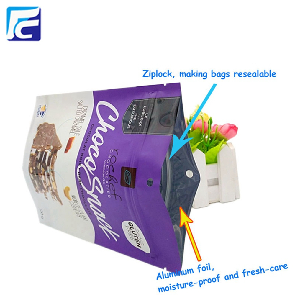 Custom printing Chips Packaging Bag