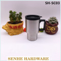 400ml Single Wall Stainless Steel Starbucks Travel Mug (SH-SC03)