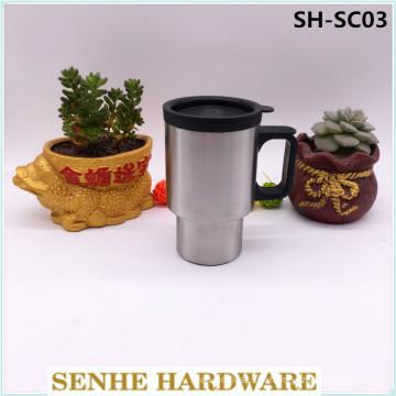Tasse de voyage Starbucks en acier inoxydable à un seul mur de 400 ml (SH-SC03)