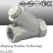 Aço inoxidável 304/316 Y-Type filtro com rosca fêmea