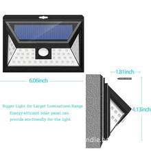 44 LED Solar Security light With 5 LEDs Both Side, 120 Degree Wide Angle Motion , Outdoor Waterproof led down light