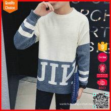 High quality wool pullover men woolen sweater design
