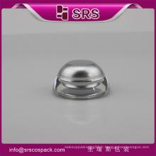 J032 cône forme luxe jar, peinture acrylique acrylique cosmétique mini jar