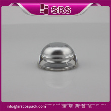 J032 jarra de luxo forma cônica, pintura de acrílico de prata mini jar
