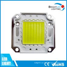 Microprocesador Bridgelux de 1200lm 100W COB LED con CE y RoHS