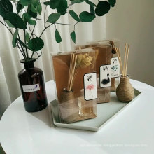 bottle with rope 30ml reed diffuser with flower in PVC box for home