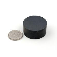 Ímãs permanentes de ferrite de disco baratos de alta qualidade