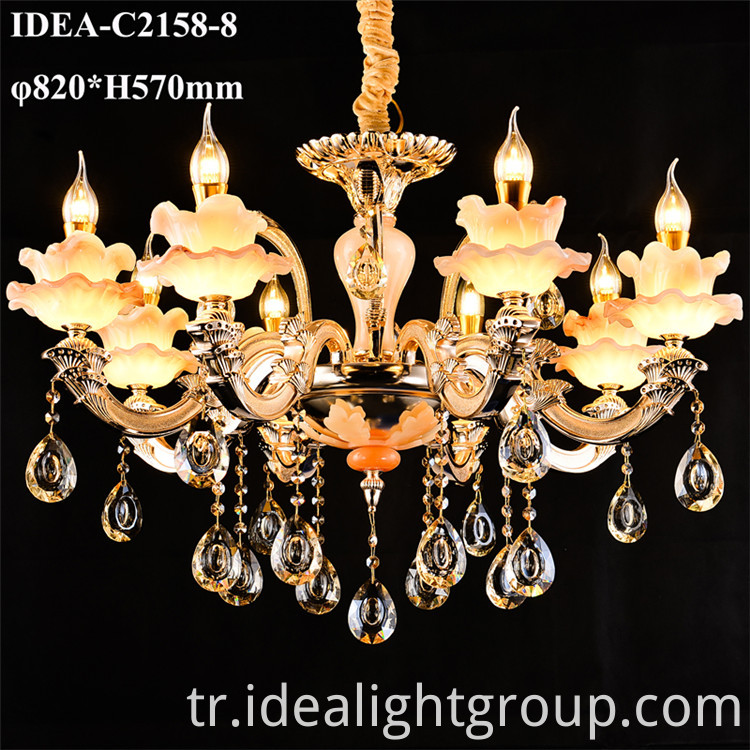 decorative hanging candle lighting