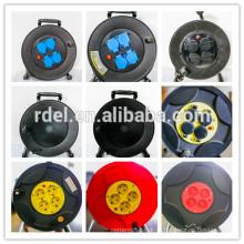 Великобритания Кабельный барабан с кабелем использовать шнуры h05vv-F в 3G1.25/1.50мм2 25м и 50м удлинитель катушечный