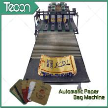 Sacola de papel de alta eficiência que faz a máquina para produzir sacos de papel químicos