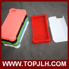 TPU + PC 3D impression Sublimation téléphone étui pour iPhone 5